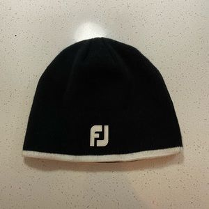 Men's Footjoy golf beanie. Work once condition.